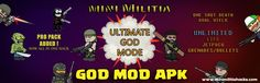 [Latest] Mini Militia Unlimited Health Hack Ammo ,God Mod Apk Download ​  Love can make you immortal, they say.   They probably haven't heard about this Mini Militia hack.  What love can't, this mod can!