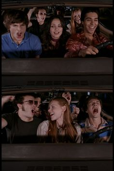 How I am when in a car full of good friends!