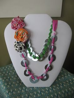 Southern Scraps : Must Do Monday- washer jewelry