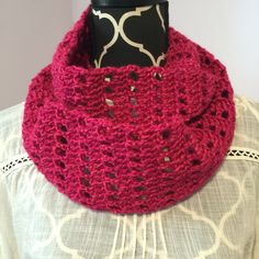 Basic cowl, my design and I used Lion Brand Heartland