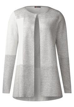 Street One DEBBY Strickjacke grau Bekleidung bei Zalando.de | Material Oberstoff: 48% Viskose, 32% Baumwolle, 20% Nylon | Bekleidung jetzt versandkostenfrei bei Zalando.de bestellen!