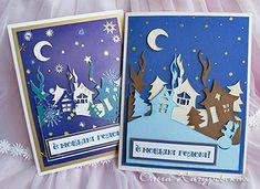 новогодние открытки своими руками детские - Поиск в Google