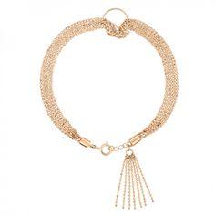 18 carat rose gold bracelet by Ginette NY