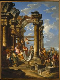 Adoration of the Magi by Giovanni Paolo Panini  Published ca. 1755