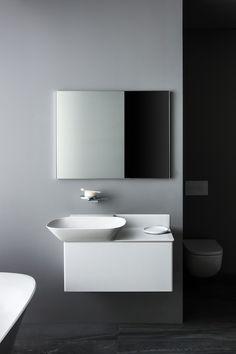 Salone del Mobile Luxury Bathroom Solutions By Toan Nguyen Vanity Countertop, Countertops, Laufen Bathrooms, Small Toilet Design, Bedroom Toys, Kartell, Bathroom Collections, Bathroom Furniture, Small Bathroom