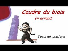 Tutoriel Coudre du biais en arrondi - YouTube
