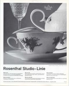 "Björn Wiinblad's ""Romanze"" for Rosenthal"