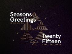 Seasons Greetings - Twenty Fifteen