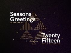 Seasons Greetings - Twenty Fifteen by Studio–JQ