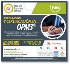 Prepárate y certifícate en OPM3 con #EANL3