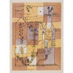 1921 Hoffmanneske Geschichte Paul Klee Lein-Wand-Bild Kunstdruck