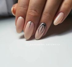 Make an original manicure for Valentine's Day - My Nails Classy Nails, Stylish Nails, Simple Nails, Love Nails, Pretty Nails, My Nails, Classy Nail Designs, Nail Art Designs, Pointed Nails