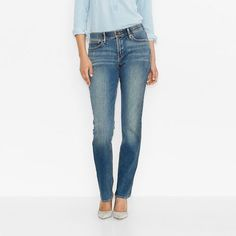 498f53bac Girls 7-16 Levi's 715 Thick Stitch Taylor Bootcut Jeans in 2018 ...