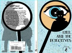 Book Cover Design for the book 'Emil and the Detectives' for a live competition with Penguin.