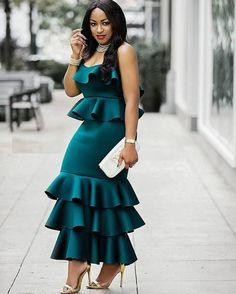 African Dress for women/ Asymmetrical long dress/ Ruffled/ Dashiki Cape Dress/ Prom Dress/ Casual Dress/ Summer Dress/Kitenge/ Kente Latest African Fashion Dresses, African Dresses For Women, African Print Dresses, African Print Fashion, African Attire, African Wear, African Women, Look Fashion, Fashion Outfits
