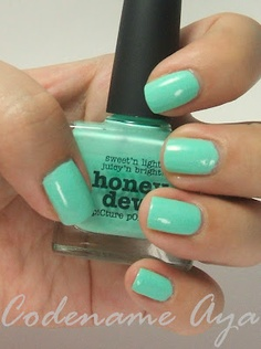 I wanna try this color.