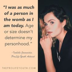 ProLife Youth https://twitter.com/ProLifeYouth http://www.theprolifeyouth.com/sayings--graphics.html