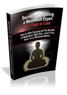 Secrets to Becoming a Meditation Expert