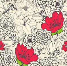 Accent Bouquet Removable Wallpaper