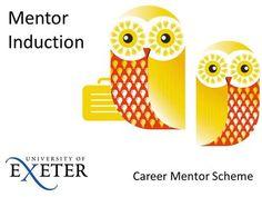Mentor Induction Career Mentor Scheme.>