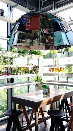 25 Hours Hotel Bikini Berlin Dubai Travel, Commercial Interiors, Hospitality, Coffee Shop, Bikini, Cool Stuff, Inspiration, Design, Coffee Shops