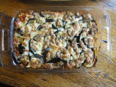 "Brown Rice Eggplant ""lasagna"" w/o the pasta or chop meat Baked Brown Rice, Brown Rice Recipes, Eggplant Lasagna, Roast Eggplant, Summer Casseroles, Quinoa Dishes, Zucchini Casserole, Eggplant Recipes, Dried Tomatoes"