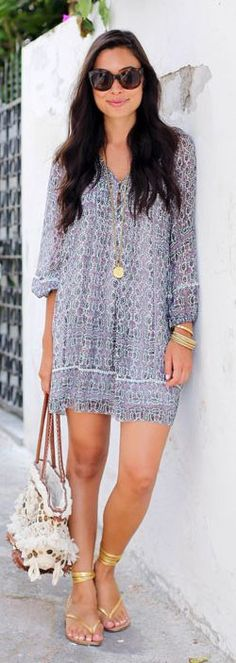 Paisley Silk Summer Dress by With Love From Kat