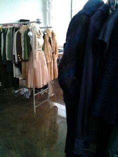 Silk,organza,brocard,recycled fur,handknit scarf at #eravintagewear