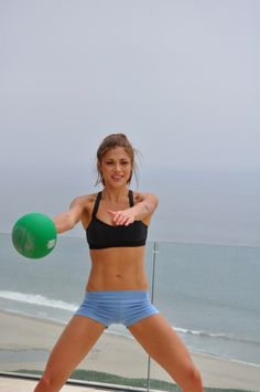 Great Medicine Ball workouts for abs, core, arms, legs and butts for overall fitness. GymRa workouts are designed to exercise multiple muscle groups, to achieve maximum fitness, and best of all it's free to try. Whether you're a beginner or advanced, we give you the tools to customize your own daily fitness routine to target your entire fitness needs.