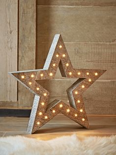 Wooden Carnival Star