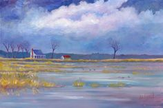 hyde county nc   Hyde County Farmhouse - OIl Painting and Prints