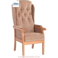 The Rivington fireside chair is a top of the range high seat chair for those who require the very highest comfort level thanks to its pocket sprung seating, gently shaped lumbar supporting backrest and availability in three sizes. Recliner, Armchair, Range, Pocket, Furniture, Design, Home Decor, Chair, Womb Chair