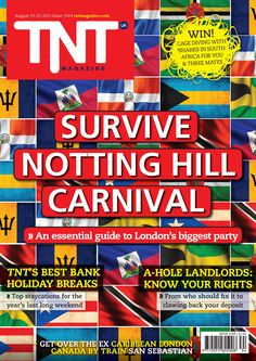 This week's TNT Magazine - our #NottingHillCarnival special. Read the whole thing online at www.tntmagazine.com/emag