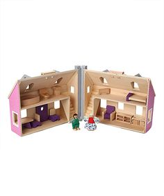Look at this Melissa & Doug Fold & Go Dollhouse on #zulily today!