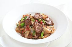 Stir-fry Beef with Cumin and Oyster Sauce Recipe - Dish