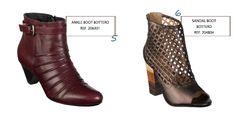 As ankle boots e as sandal boots estão entre os 10 calçados preferidos das mulheres <3