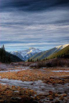 San Juan Mountains, Colorado (between Ouray and Silverton); photo by Wayne Boland ~ I used to dream of living in Ouray ~ ALW Visit Colorado, Colorado Usa, Skiing Colorado, Silverton Colorado, Colorado Trip, San Juan Mountains, Colorado Mountains, Rocky Mountains, Colorado Springs