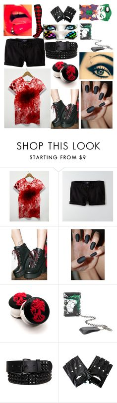 """motionless in white preferences 2!"" by newmotionlessjinxxgamer ❤ liked on Polyvore featuring American Eagle Outfitters"