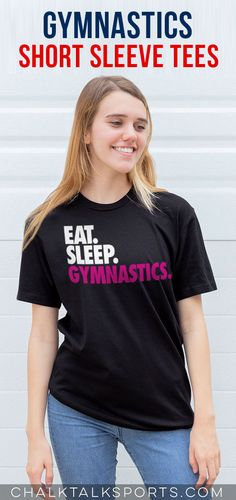 Spring is in the air! That means it's time to hang up the winter jacket and rock an awesome field hockey tee while on or off the field! Gymnastics Shirts, Gymnastics Coaching, Field Hockey, Cotton Tee, Short Sleeve Tee, Shirt Designs, Hockey Gifts, Winter Jackets, Rock