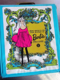 Vintage 1968 The World of Barbie Doll Case by Mattel