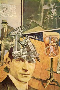 Tatlin At Home * 1920 Raoul Hausmann
