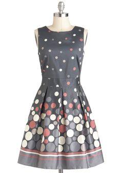 LOVE THIS DRESS!!!  Make the Rounds Dress | Mod Retro Vintage Dresses | ModCloth.com