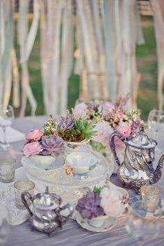 Bohemian Vintage Wedding Inspiration on Style Me Pretty