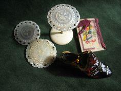 victorian thimble case palais royal bobbin holders needle case thimble. joblot