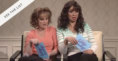 """13 Hilarious """"SNL"""" Sketches You Forgot About via @PureWow-----INCLUDES PATRICK SWAYZE AND CHRIS FARLEY CHIPPENDALES!!!!"""