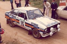 1981 Malcolm Wilson Ford Escort RS1800 Escort Mk1, Ford Escort, Ford Motorsport, Strange Cars, Trucks And Girls, Car Painting, Rally Car, Car And Driver, Auto Racing