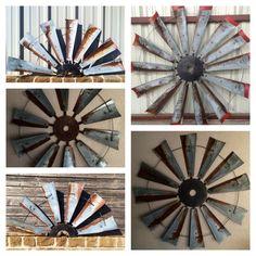 """Offering 30""""- 60"""" windmill fans!! Hinz-57@att.net"""