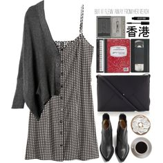 Untitled #882 by tacoxcat on Polyvore featuring H&M, Acne Studios, Lizzy Disney, Lord & Berry and Bunn