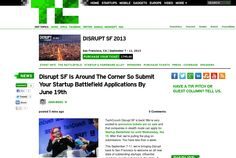 http://techcrunch.com/2013/06/14/disrupt-sf-is-around-the-corner-so-submit-your-startup-battlefield-applications-by-june-19th/ ...   #Indiegogo #fundraising http://igg.me/at/tn5/