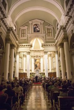 BYU Chamber Orchestra at the Catholic cathedral in Vincenza Byu College, Fine Arts College, Fine Arts Center, Orchestra, Catholic, Cathedral, Things To Do, Spring Summer, Things To Make